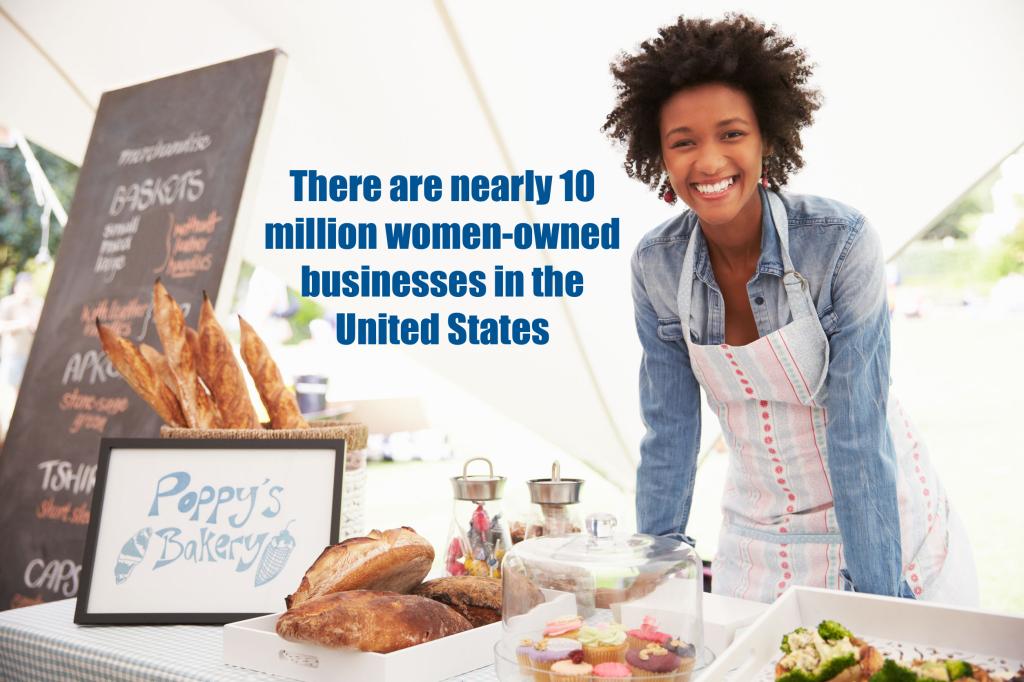 42131623 - female bakery stall holder at farmers fresh food market